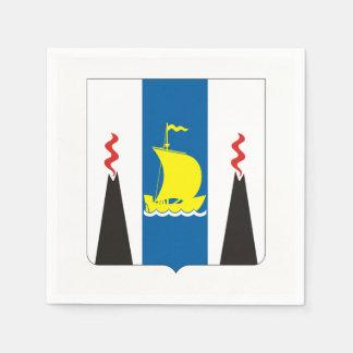 Guardanapo De Papel Brasão do oblast de Sakhalin