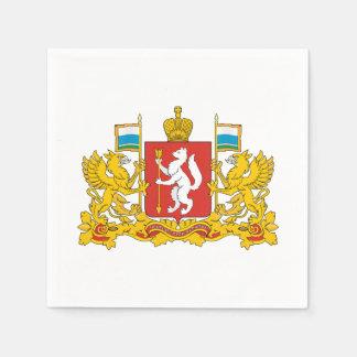 Guardanapo De Papel Brasão do oblast de Sverdlovsk