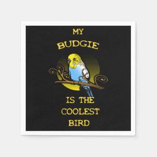 Guardanapo De Papel Budgie é o pássaro o mais fresco