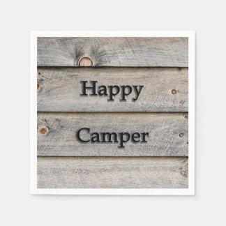 Guardanapo De Papel Campista feliz