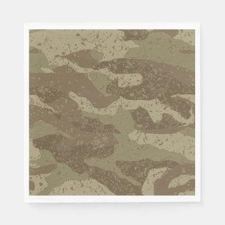 Guardanapo De Papel Camuflagem da lama