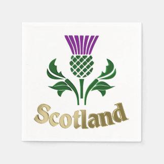 Guardanapo De Papel Cardo escocês do emblema