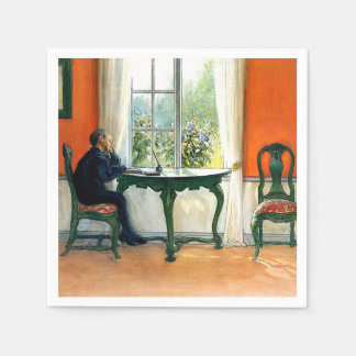 Guardanapo De Papel Carl Larsson - leitura exigida