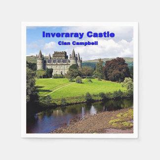 Guardanapo De Papel Castelo de Inveraray - clã Campbell