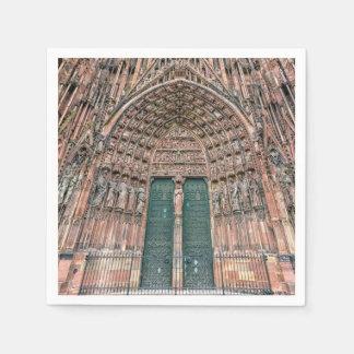 Guardanapo De Papel Cathedrale Notre-Dame, Strasbourg, France