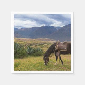 Guardanapo De Papel Cavalo sagrado verdejante do vale II