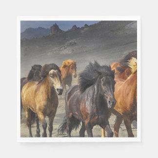 Guardanapo De Papel Cavalos selvagens