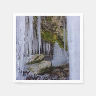 Guardanapo De Papel Caverna do gelo
