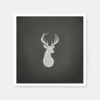 Guardanapo De Papel Cervos com o desenho de giz dos Antlers