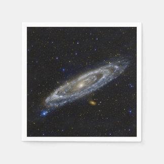 Guardanapo De Papel Céu estrelado da galáxia do Andromeda