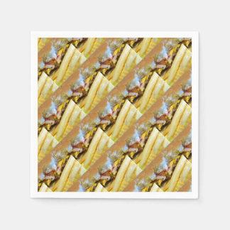 Guardanapo De Papel Cheeseburger e fritadas