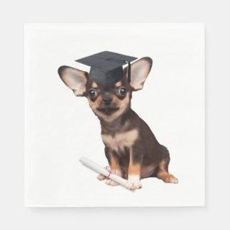 Guardanapo De Papel Chihuahua da graduação