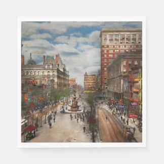 Guardanapo De Papel Cidade Cincinnati OH - fonte 1907 de Tyler