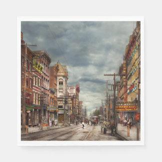 Guardanapo De Papel Cidade - NY - o mercado nunca em mudança 1906