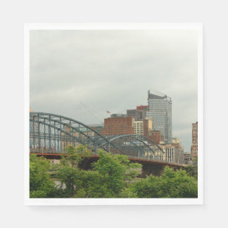 Guardanapo De Papel Cidade - PA de Pittsburg - a cidade grande de