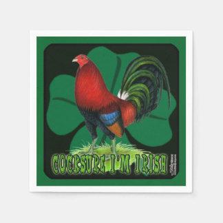 Guardanapo De Papel Cocksure eu sou irlandês demasiado!