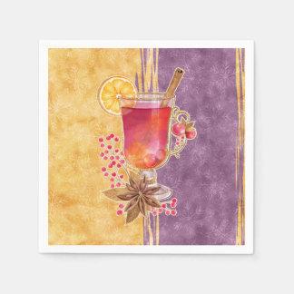 Guardanapo De Papel Cocktail do Natal