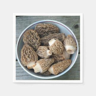 Guardanapo De Papel Cogumelos do Morel