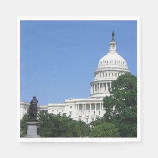 Guardanapo De Papel Construção do Capitólio no Washington DC