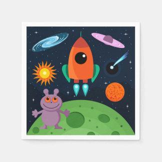 Guardanapo De Papel Cosmos dos desenhos animados