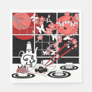 Guardanapo De Papel Culinária japonesa