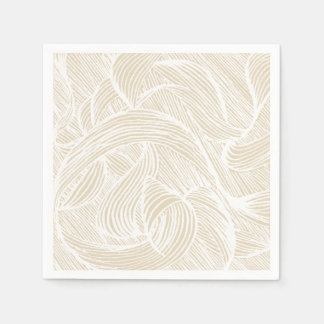 Guardanapo De Papel curly lines