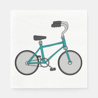 Guardanapo de papel da bicicleta legal