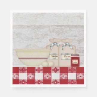 Guardanapo de papel da cozinha da avó