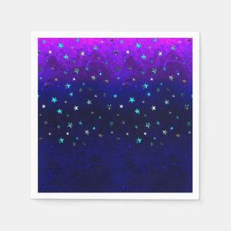 Guardanapo De Papel Da noite bonita da galáxia do espaço imagem