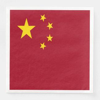 Guardanapo De Papel De Jantar A bandeira da República Popular da China