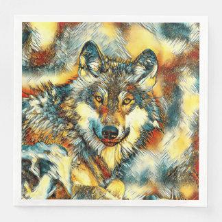 Guardanapo De Papel De Jantar AnimalArt_Wolf_20170601_by_JAMColors