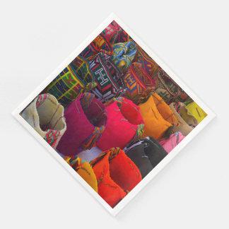 Guardanapo De Papel De Jantar As bolsas dos mochilas de Wayuu para a venda em