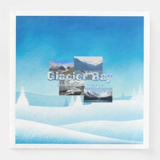 Guardanapo De Papel De Jantar Baía de geleira de ABH