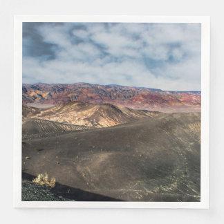 Guardanapo De Papel De Jantar Cratera o Vale da Morte de Ubehebe