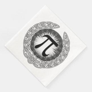 Guardanapo De Papel De Jantar Emblema do PI