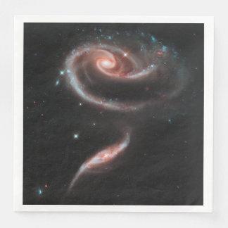 Guardanapo De Papel De Jantar Galáxia cor-de-rosa