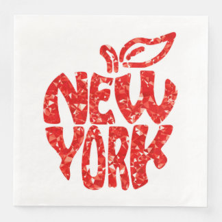 GUARDANAPO DE PAPEL DE JANTAR NEW YORK