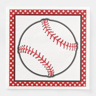 Guardanapo De Papel De Jantar Tema do basebol do tema | dos esportes