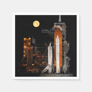 Guardanapo De Papel Descoberta e lua do vaivém espacial