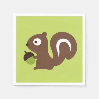 Guardanapo De Papel Design bonito do esquilo do bebê