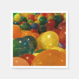 Guardanapo De Papel Design colorido do partido dos balões