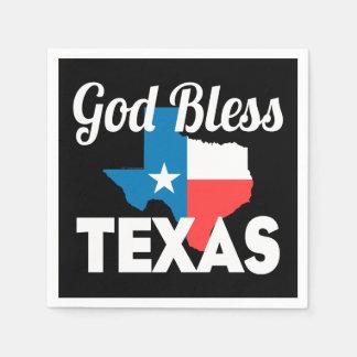 Guardanapo De Papel Deus abençoe Texas