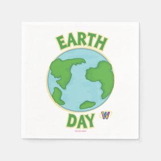 Guardanapo De Papel Dia da Terra de Webkinz