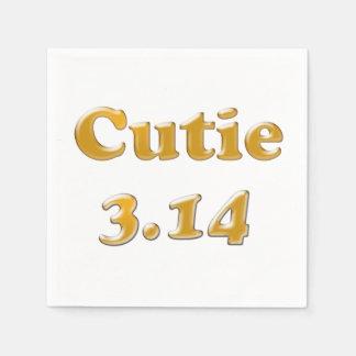 Guardanapo De Papel Dia de Cutie 3,14 Pi