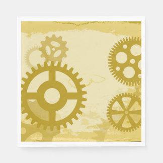 Guardanapo de papel do almoço de Steampunk