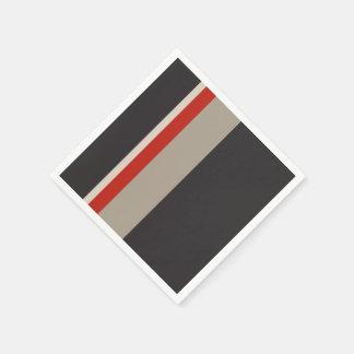 Guardanapo de papel do cocktail das LISTRAS -