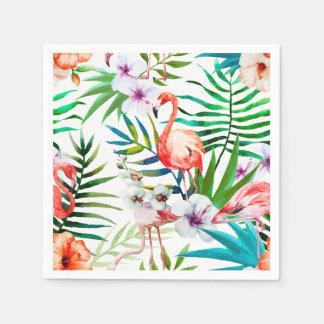Guardanapo de papel do cocktail tropical do