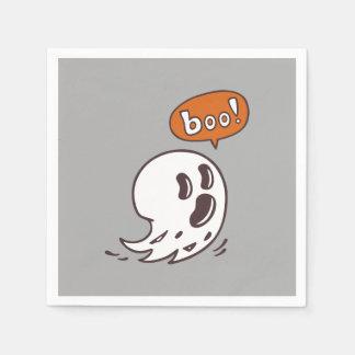 Guardanapo de papel do fantasma do Dia das Bruxas