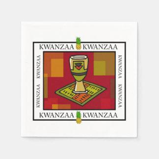 Guardanapo de papel do partido de Kwanzaa do copo