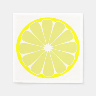 Guardanapo de papel do partido do limão